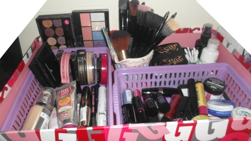 My Make-up Storage